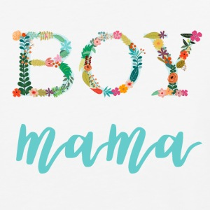Floral Boy Mama - Baseball T-Shirt