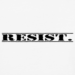 resist. - Baseball T-Shirt