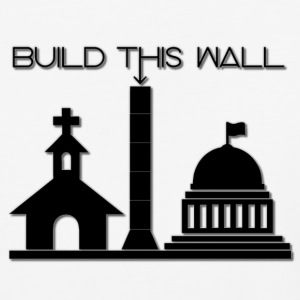 Build THIS Wall - Baseball T-Shirt