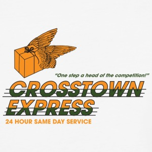 Crosstown Express - Seven - Baseball T-Shirt