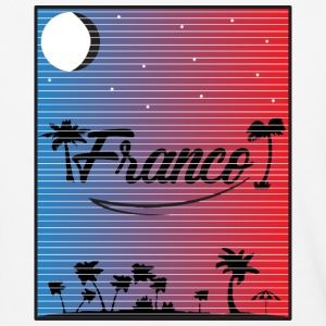 Franco Sunset Lines - Baseball T-Shirt