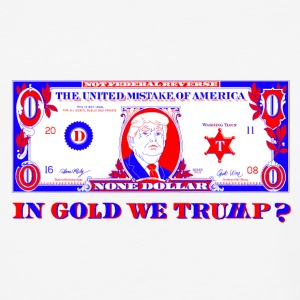 IN-GOLD-WE-TRUMP - Baseball T-Shirt