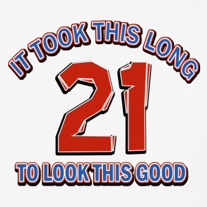 21st birthday designs - Baseball T-Shirt