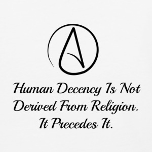 Human Decdncy - Baseball T-Shirt