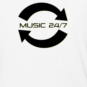Music 24/7 - Baseball T-Shirt