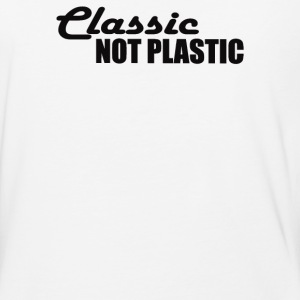 NOT PLASTIC - Baseball T-Shirt