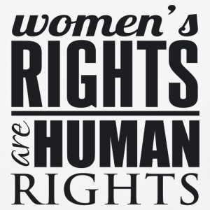 Women's Rights are Human Rights T-Shirt - Baseball T-Shirt