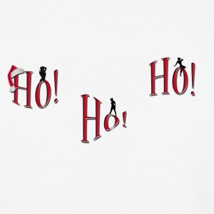ho-ho-ho Naughty Christmas shirt - Baseball T-Shirt