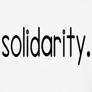 solidarity - Baseball T-Shirt