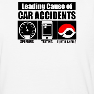 Leading Cause Of Accidents - Baseball T-Shirt