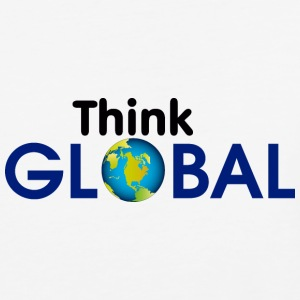 think global - Baseball T-Shirt