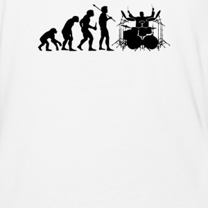 Evolution of Drummer - Baseball T-Shirt