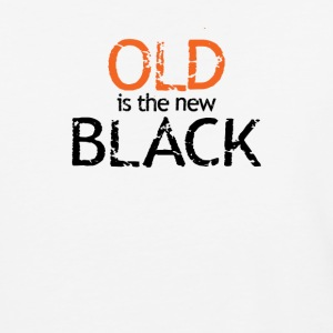 Old Is The New Black - Baseball T-Shirt