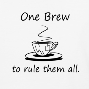 On Brew To Rule them All - Tea - Baseball T-Shirt