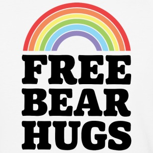 Free Bear Hugs - Baseball T-Shirt