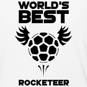 World's Best Rocketeer Black - Baseball T-Shirt