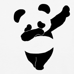 Dab Life Emoticon Dance Panda Funny - Baseball T-Shirt