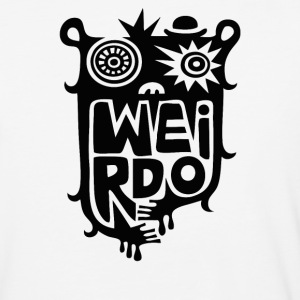big weirdo - Baseball T-Shirt