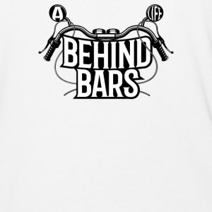 A Biker Life Behind Bars - Baseball T-Shirt