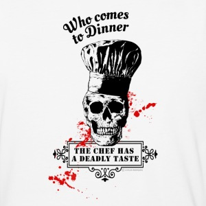 Who comes to Diner - The chef has a deadly taste - Baseball T-Shirt