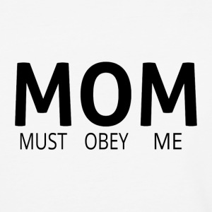 MOM (Must Obey Me) - Baseball T-Shirt
