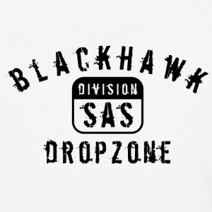 Black hawk drop zone - Baseball T-Shirt