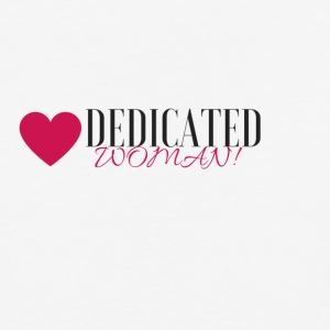 DEDICATED WOMAN - Baseball T-Shirt