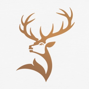 Majestic Deer Logo - Baseball T-Shirt
