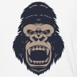 Angry Monkey - Baseball T-Shirt
