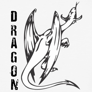 back_of_dragon - Baseball T-Shirt