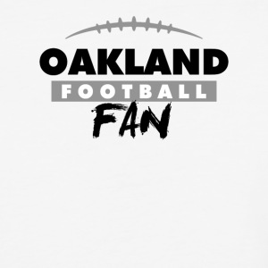 Oakland Football Fan - Baseball T-Shirt