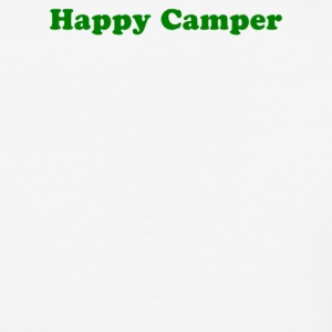 Happy Camper - Baseball T-Shirt