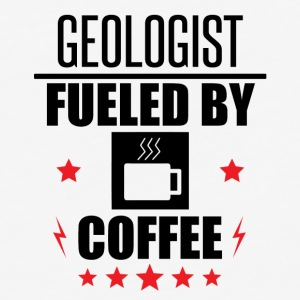 Geologist Fueled By Coffee - Baseball T-Shirt