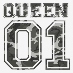 Queen_01_camo_1 - Baseball T-Shirt