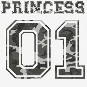 Princess_01_camo_1 - Baseball T-Shirt