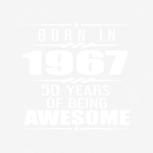 Born in 1967 18 Years of Being Awesome - Baseball T-Shirt