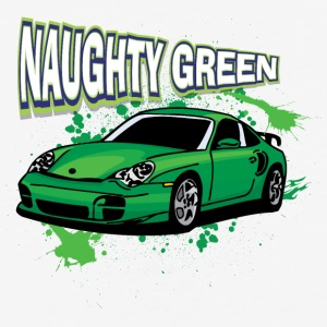 Naughty_Green_porsche - Baseball T-Shirt