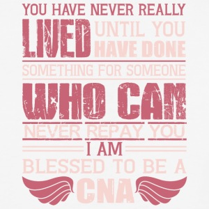 I Am Blessed To Be A CNA T Shirt - Baseball T-Shirt