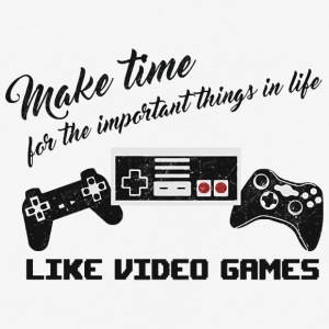 Make time for the important things - Baseball T-Shirt