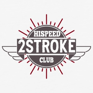 2-Stroke Hispeed Club - Baseball T-Shirt