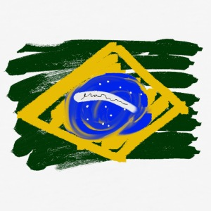 Brazilian Flag - Baseball T-Shirt