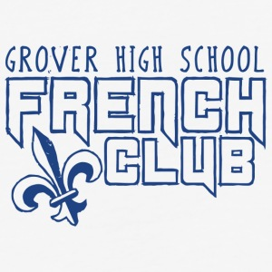 Grover High School French Club - Baseball T-Shirt