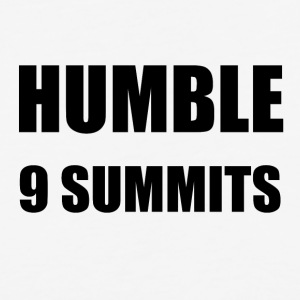 HUMBLE - 9 MOTTOS OF 9 SUMMITS - Baseball T-Shirt