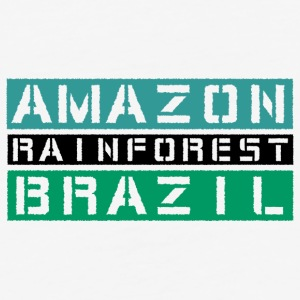 Amazon rainforest Brazil - Baseball T-Shirt