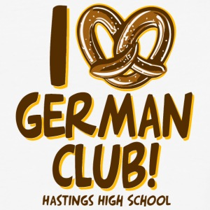 GERMAN CLUB HASTINGS HIGH SCHOOL - Baseball T-Shirt