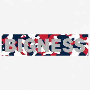 BIGNESS USA Camo - Baseball T-Shirt