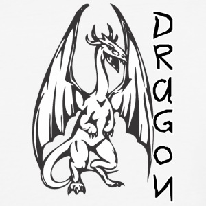 Dragon_with_long_wings - Baseball T-Shirt
