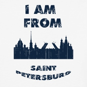 Saint Petersburg I am from - Baseball T-Shirt