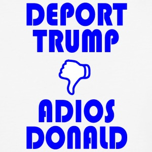 DEPORTTRUMPADIOSblue - Baseball T-Shirt