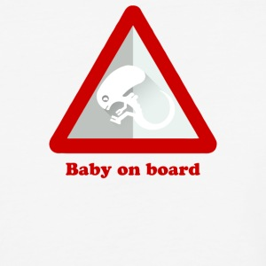 Baby Alien On Board - Baseball T-Shirt